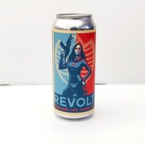 """Bière Canette """"Revolt"""" de la brasserie Adroit Théory"""
