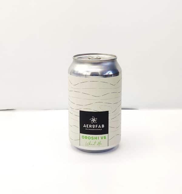 Bière Canette Oroshi de la brasserie Aerofab