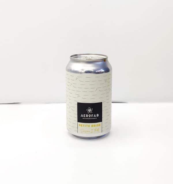 Bière Canette Petite Brise de la brasserie Aerofab