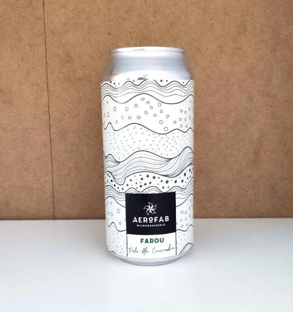 Bière Canette Farou de la brasserie Aerofab.
